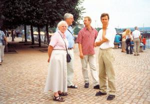 2002 Besuch Werner und Gudrun Mücher