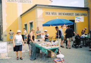 2003 Bücherstand Elbhangfest 1