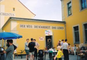 2003 Bücherstand Elbhangfest 2