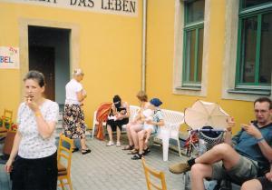 2003 Bücherstand Elbhangfest 3