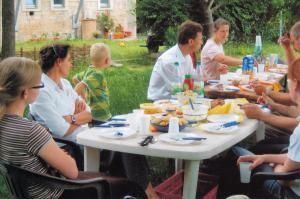 2008 Gemeinsames Mittagessen 1