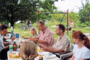2008 Gemeinsames Mittagessen 2